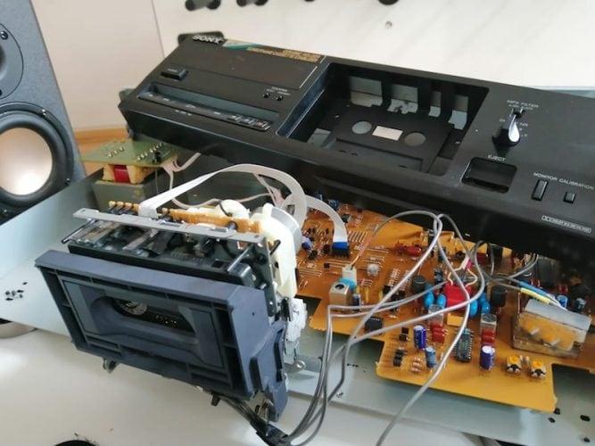 Reparatur Sony TC-K415