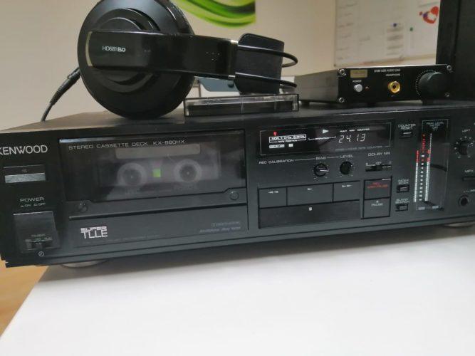Ich stelle vor: das Kenwood KX-880 HX