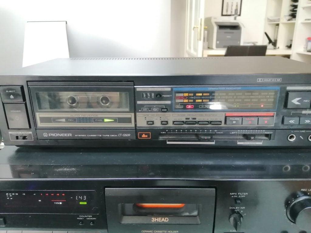 Pioneer CT126R Aufnahme mit dbx